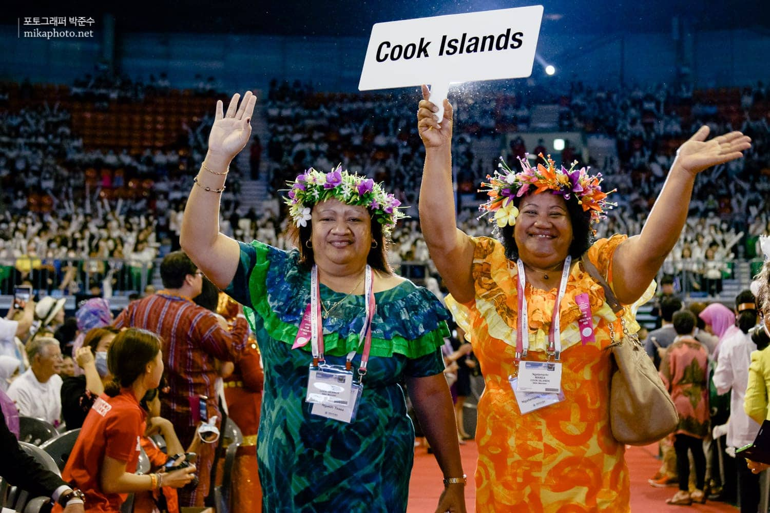 Delegate from Cook Islands.