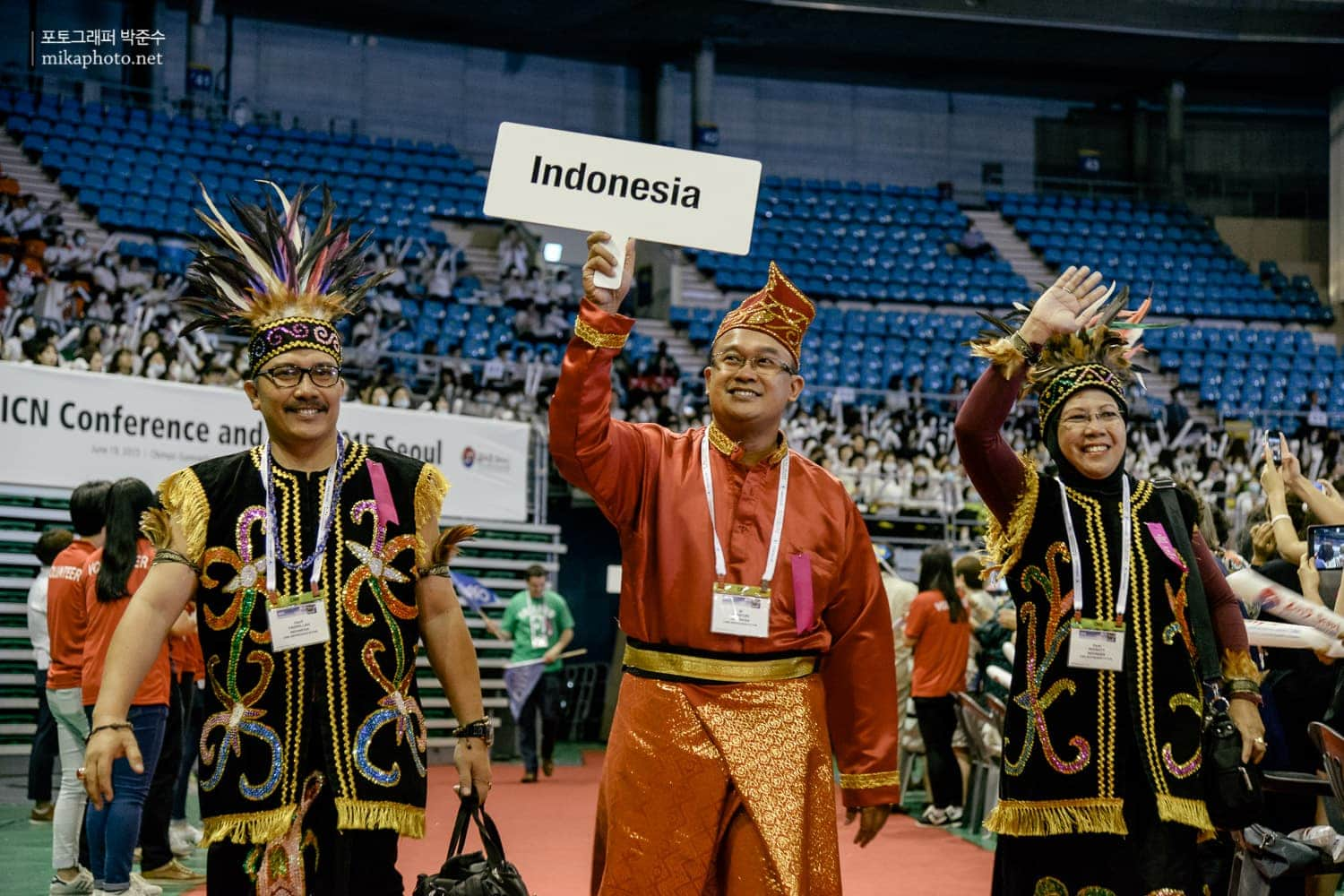 Delegate from Indonesia