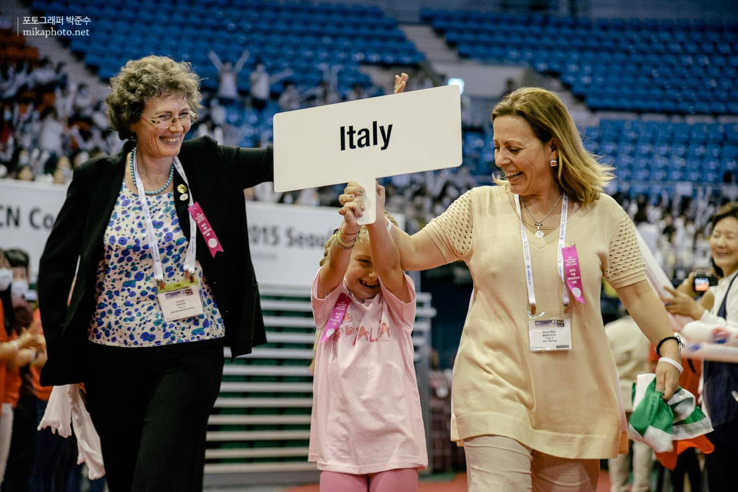 Delegate from Italy